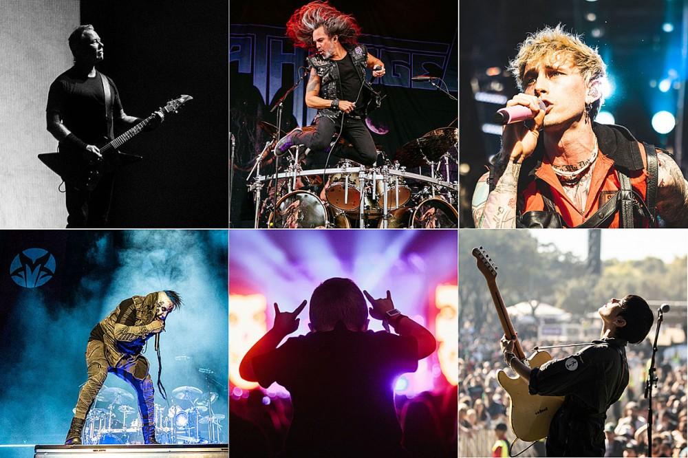 77 Must See Photos of Metallica, Machine Gun Kelly, Mudvayne + More From 2021 Aftershock Festival