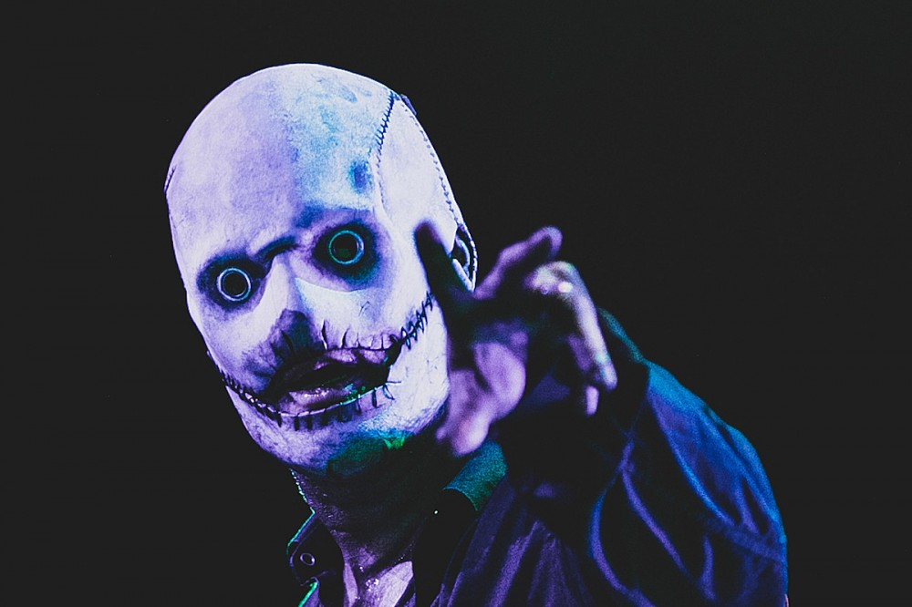 Corey Taylor Slings Stickers of His New Slipknot Mask