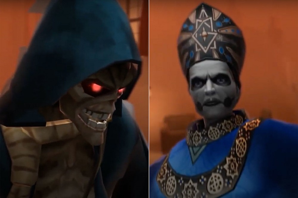 Ghost Making In-Game Collaboration With Iron Maiden's 'Legacy of the Beast' Mobile Game
